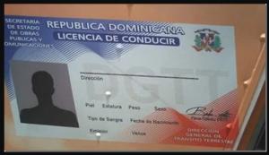 licencia de conducir en republica dominicana
