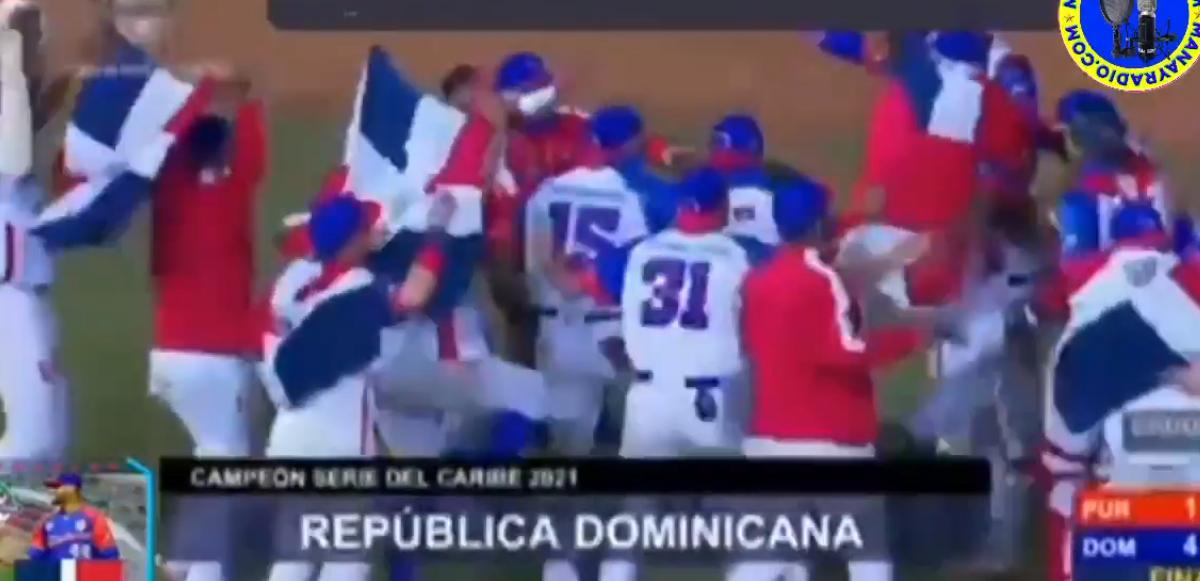 REPUBLICA DOMINICANA GANA SERIE DEL CARIBE