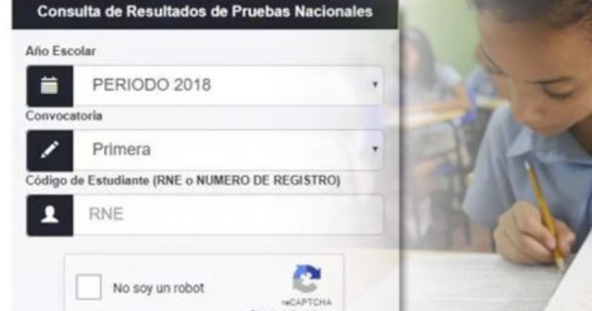Como consultar los resultados de las Pruebas Nacionales