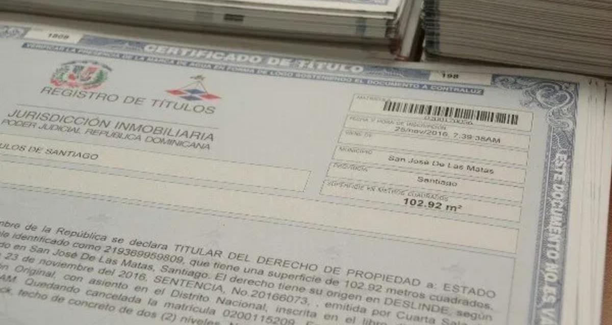 Como obtener un titulo de propiedad en la República Dominicana